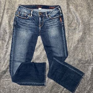 Silver Jeans Distressed Bootcut Women's 32/33.